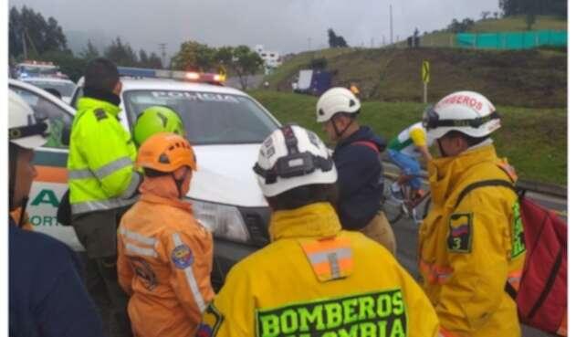 Accidente Bogotá-Medellín 14/12