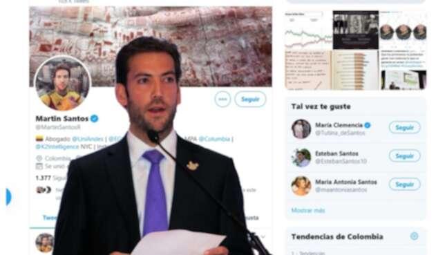 Martín Santos Twitter