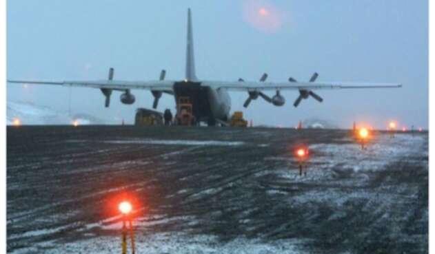 Avión siniestrado chileno