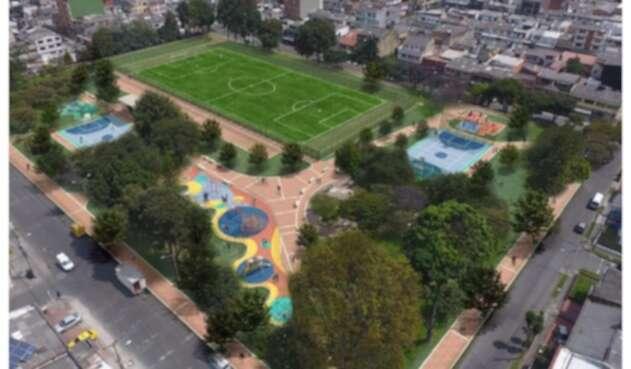 Parque Ciudad de Bogotá