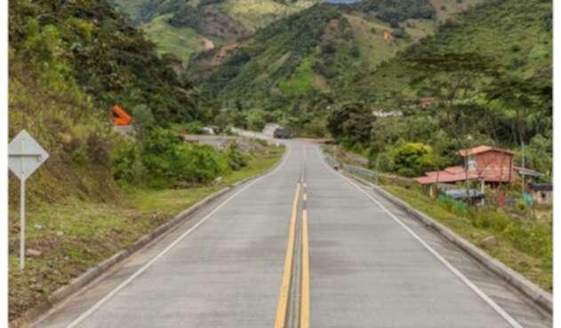 Via Quibdó - Medellín