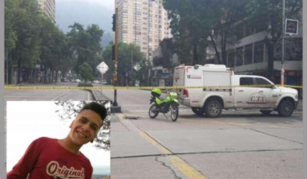 Escena muerte Dilan Cruz