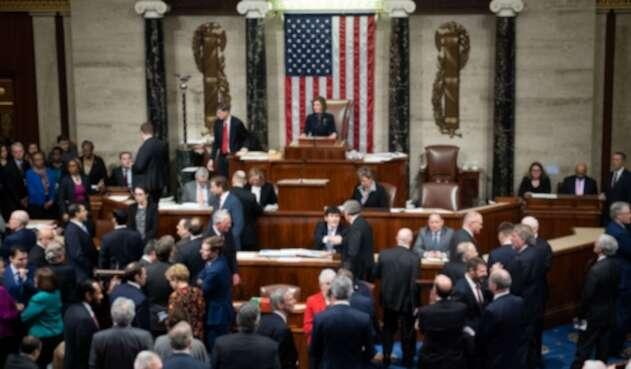 Cámara de EE.UU. en aprobación de juicio político contra Trump