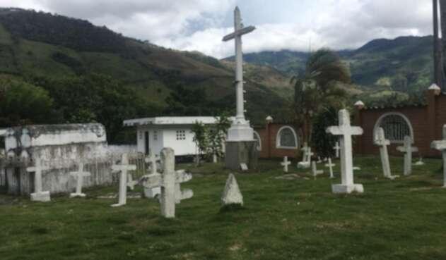 El cementerio de Dabeiba