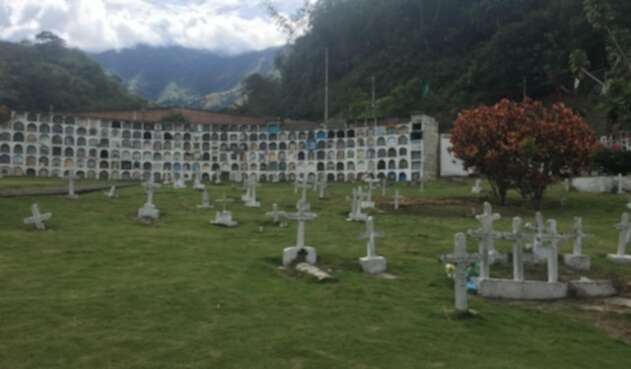 El cementerio de Dabeiba.