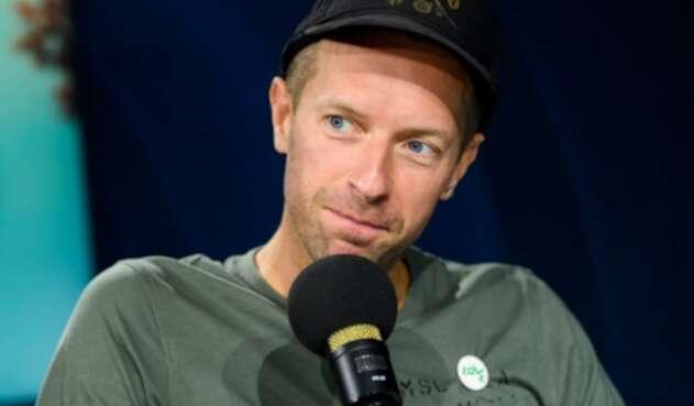 Chris Martin, vocalista de Coldplay