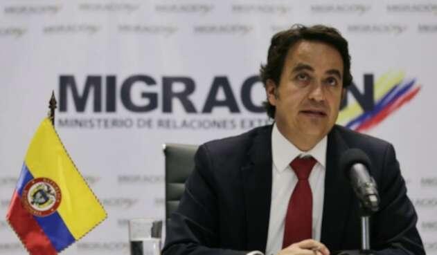 Christian Krüger, director de Migración Colombia