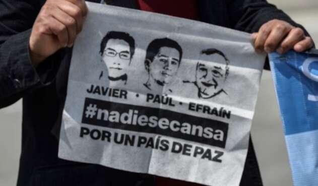 Periodistas del diario El Comercio