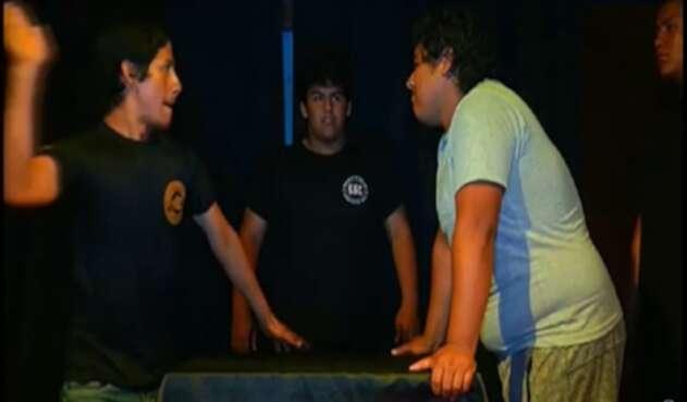 Concurso de bofetadas en A. Latina