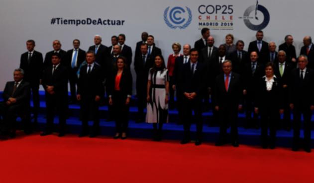 Inicio de la COP25 en Madrid