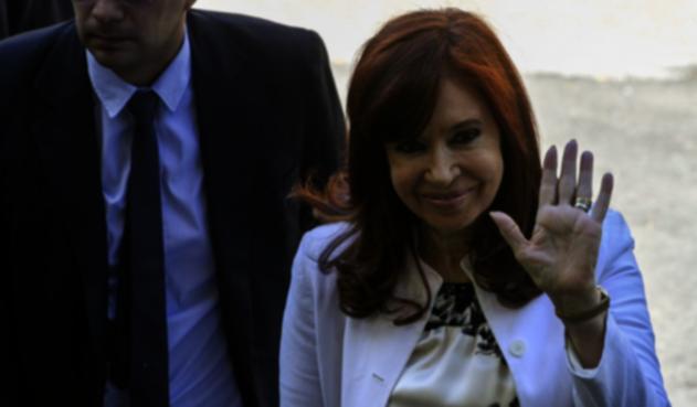 Cristina Fernández de Kirchner en su primer juicio por corrupción