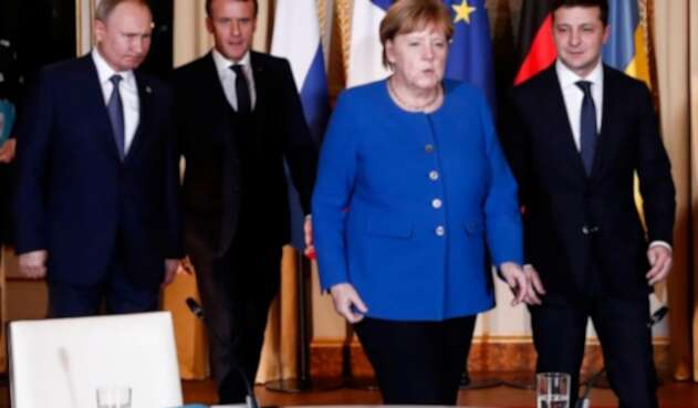 """Cumbre """"Normandía"""" para la paz de Ucrania"""