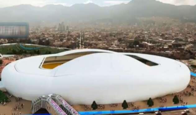 Nuevo estadio El Campín