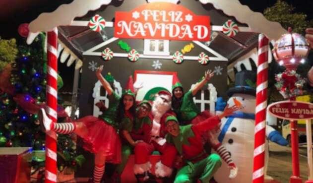 Celebración de la navidad en Chía