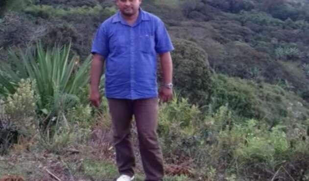 Reinaldo Carrillo, líder campesino asesinado en el Huila