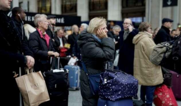 Francia sufre falta de transporte