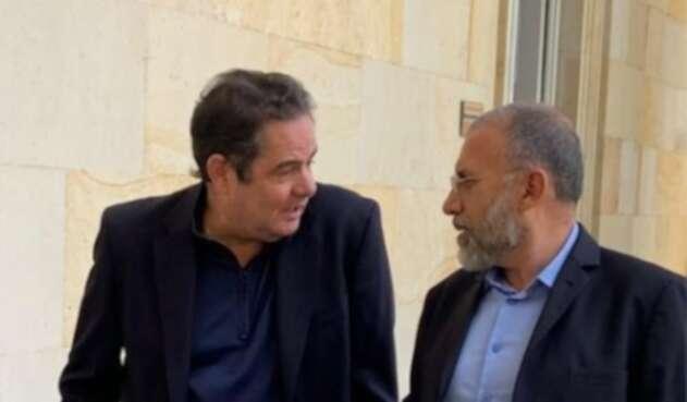 Germán Vargas Lleras y Roy Barreras