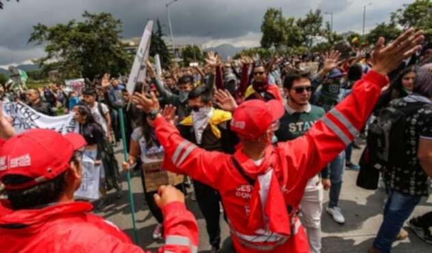 Gestores de convivencia y sus acciones en medio de las manifestaciones