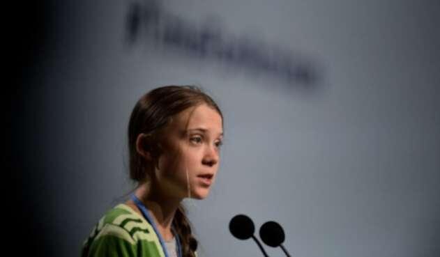 Greta Thunberg en la COP25