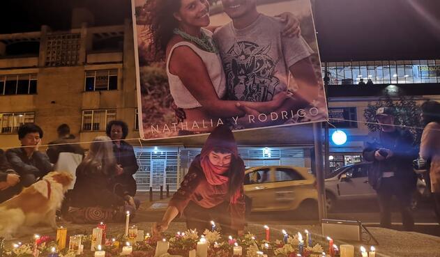 Homenaje a Nathalia Jiménez y Rodrigo Monsalve
