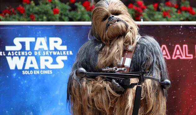 Fans de 'Star Wars Colombia' caracterizados como los personajes de la saga
