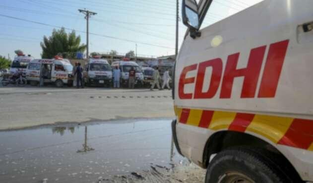 Ambulancias en Pakistán