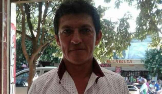 Líder Elicerio Mendoza.