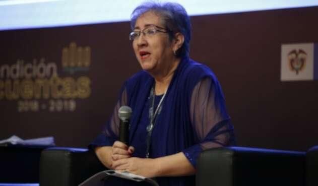 María Virginia Torres, directora de la Sociedad de Activos Especiales (SAE)