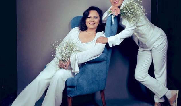 Matrimonio de Claudia López y Angélica Lozano