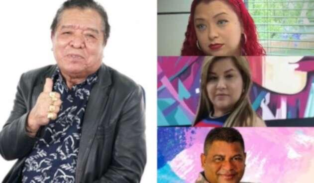 Pastor López y su familia