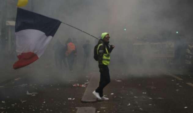 Protestas en Francia por reforma pensional