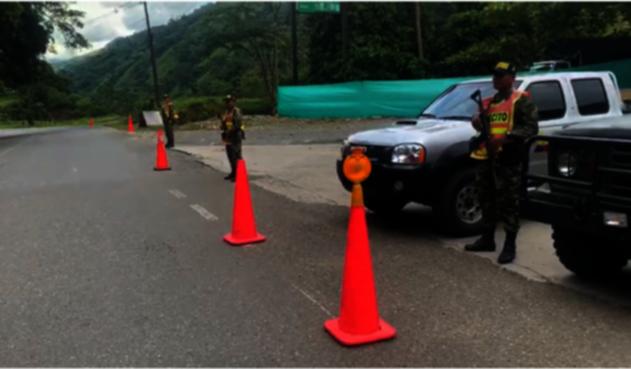 El ELN pretendía colapsar la movilidad en la vía que comunica a Medellín con la Costa Caribe atacando en siete diferentes puntos de la troncal