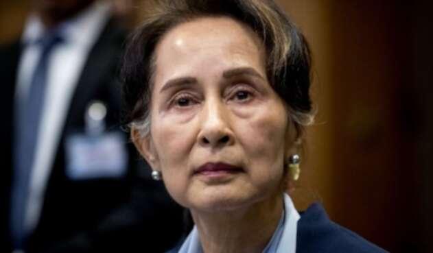 La Nobel de Paz, Aung SanSuuKyi