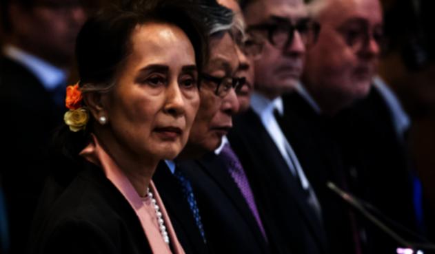Aung San Suu Kyi defiende a Birmana en la CIJ