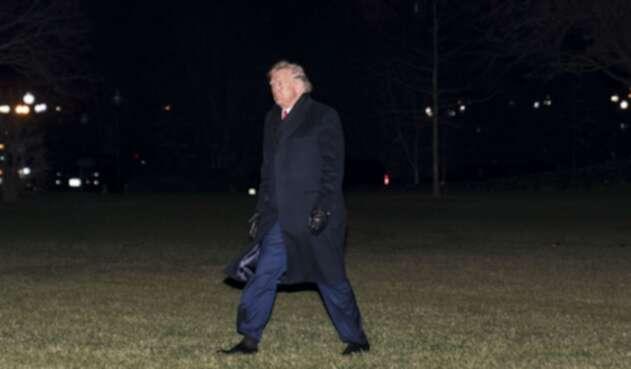 Donald Trump, presidente estadounidense
