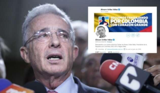 Twitter de Álvaro Uribe Vélez