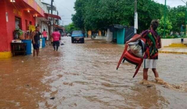 Inundaciones en Unguía Chocó