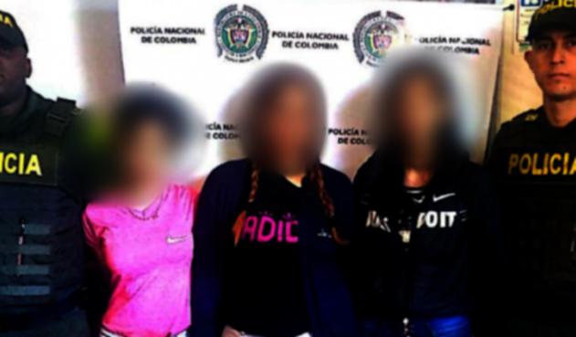 Capturan a tres venezolanas en el Metro de Medellín