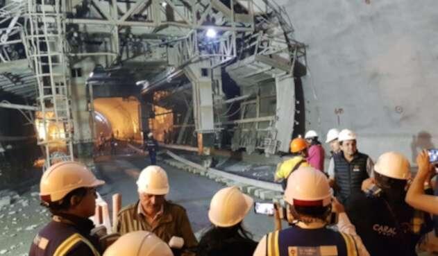 Gobierno espera que Túnel de la Línea empiece a operar en mayo del próximo año