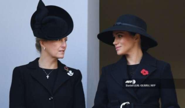 Sophie Wessex y Meghan Markle