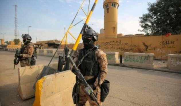 Embajada de EE.UU., en Bagdad