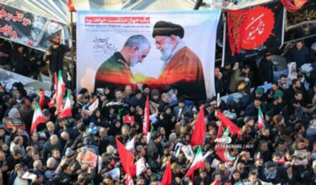 Procesión fúnebre del general Soleimani