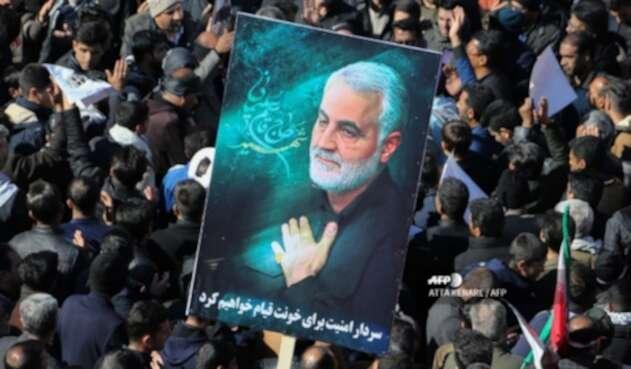 Funeral de general Qasem Soleimani