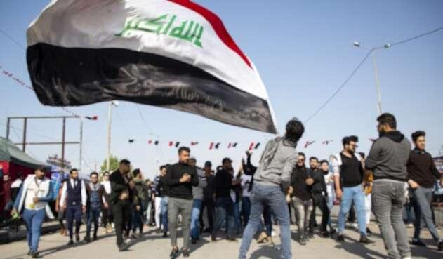 Irán Bandera