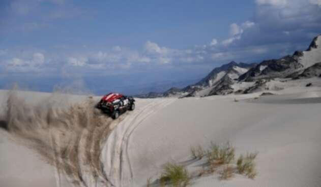 Orlando Terranova, Rally Dakar
