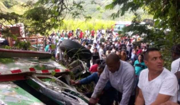 Accidente Cauca
