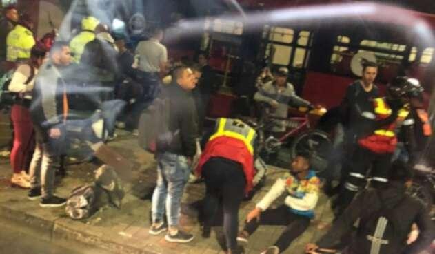 Accidente en el Olaya deja quince heridos