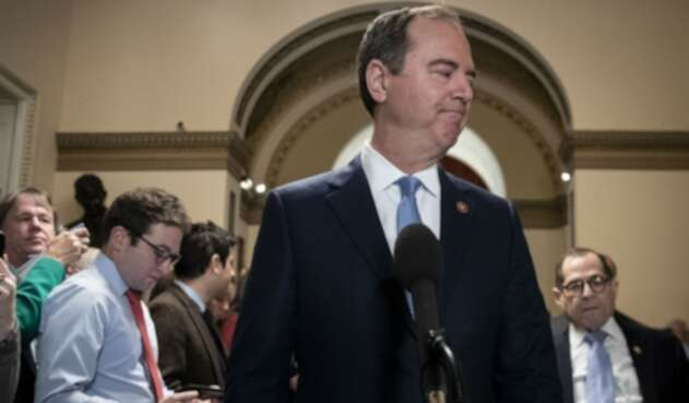 Adam Schiff, el congresista demócrata a cargo de la acusación en el juicio político