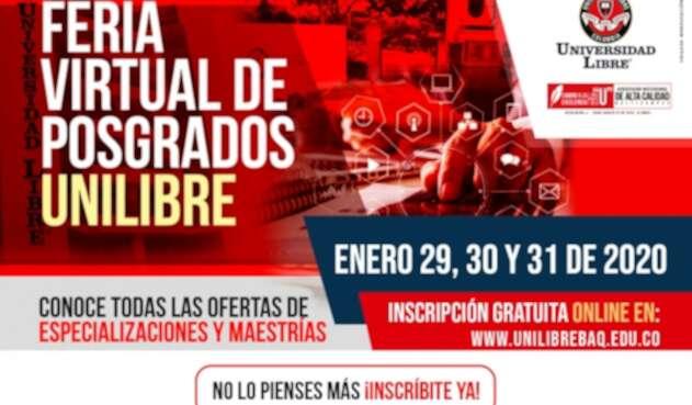 Feria virtual universidad Libre