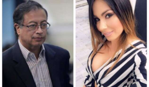 Gustavo Petro y Esperanza Gómez